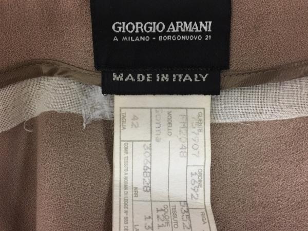 GIORGIOARMANI(ジョルジオアルマーニ) スカート レディース ライトブラウン
