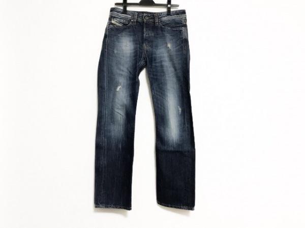 DIESEL(ディーゼル) ジーンズ メンズ VIKER ブルー ダメージ加工/ボタンフライ