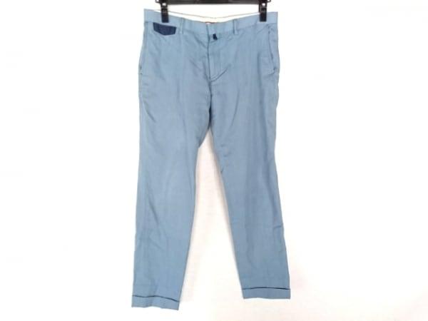 FACTOTUM(ファクトタム) パンツ サイズ46 XL メンズ ライトブルー×ネイビー