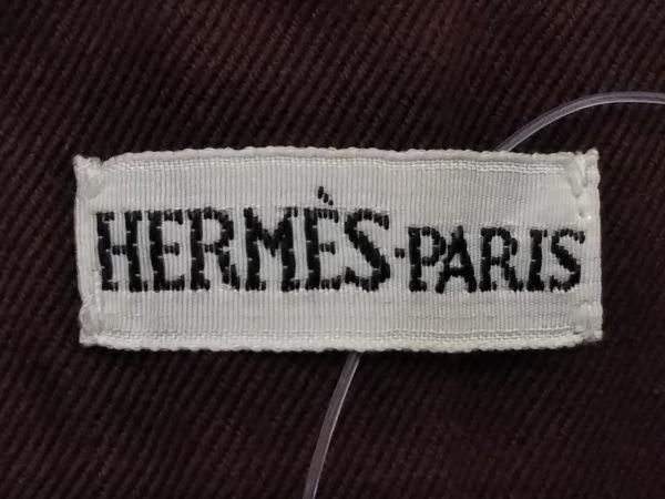 HERMES(エルメス) スカート サイズ36 S レディース ダークブラウン
