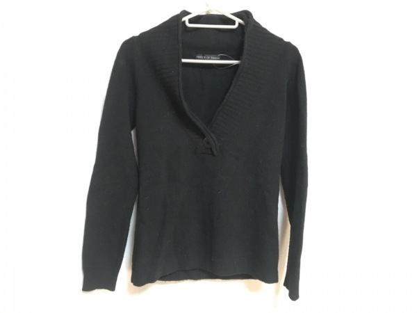 Shinzone(シンゾーン) 長袖セーター サイズF レディース 黒