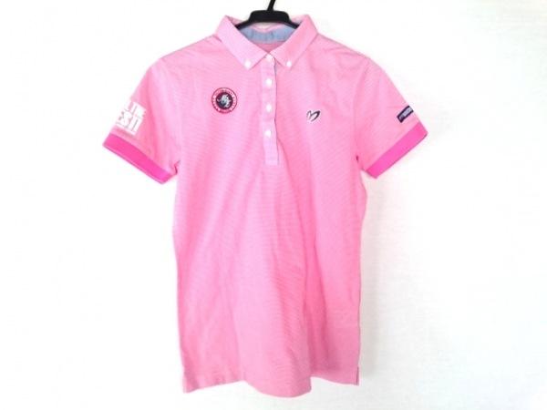 マスターバニーエディション 半袖ポロシャツ サイズ2 M レディース ピンク