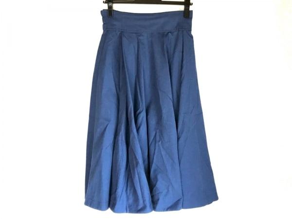 The Virgnia(ザ ヴァージニア) ロングスカート サイズ38 M レディース美品  ブルー