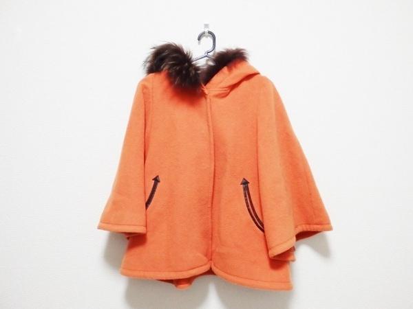Swingle(スウィングル) コート サイズ1 S レディース オレンジ ショート丈/冬物