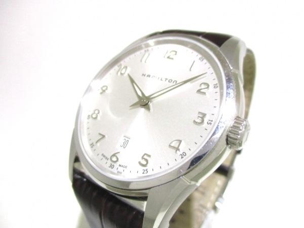 ハミルトン 腕時計 ジャズマスター H385110/H38511553 レディース SS/革ベルト