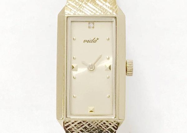 VIDA+(ヴィーダプラス) 腕時計 - レディース ゴールド