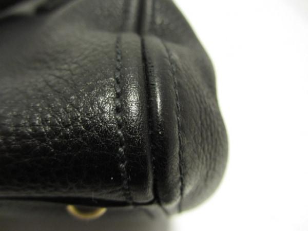 miumiu(ミュウミュウ) トートバッグ美品  - RN0757 黒 レザー