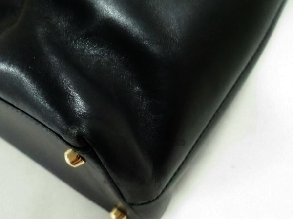 GUCCI(グッチ) ハンドバッグ バンブー 0020505 黒 レザー×ウッド