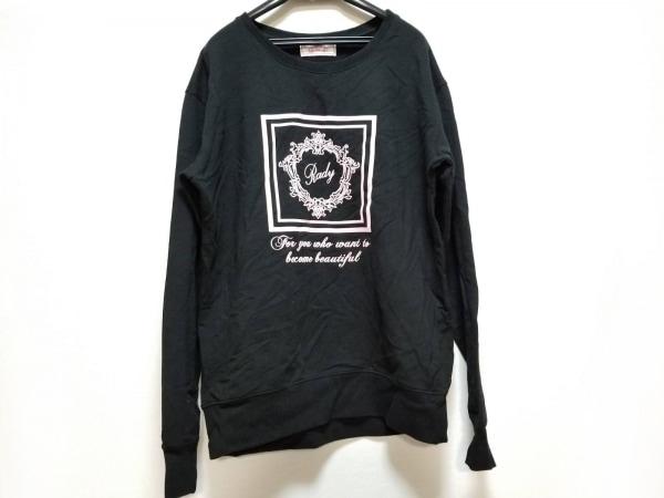 Rady(レディ) チュニック サイズF レディース 黒×ピンク