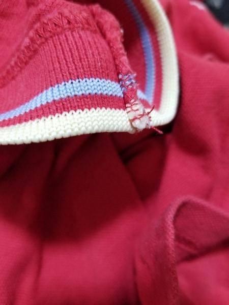 FRED PERRY(フレッドペリー) 半袖ポロシャツ サイズUSA6 M レディース美品  レッド