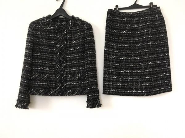 MADAM JOCONDE(マダムジョコンダ) スカートスーツ レディース美品  黒×白