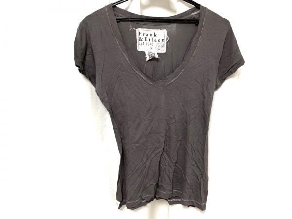 Frank&Eileen(フランク&アイリーン) 半袖Tシャツ サイズS メンズ新品同様  グレージュ