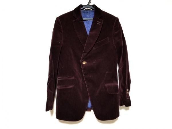 ヴィヴィアンウエストウッドマン ジャケット サイズ44 L メンズ ボルドー ベロア