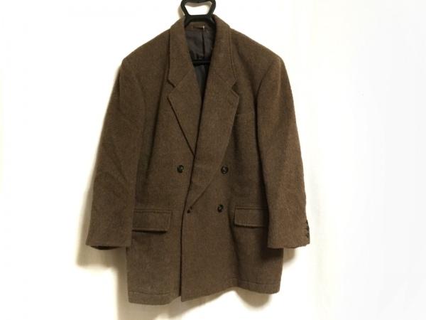 BARREAUX(バルー) コート サイズ40 M レディース ダークブラウン 肩パッド/冬物
