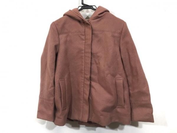 トランテアンソンドゥモード コート サイズ36 S レディース美品  ピンク
