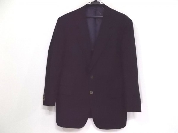 simpson(シンプソン) ジャケット サイズSM メンズ ネイビー 肩パッド/ネーム刺繍