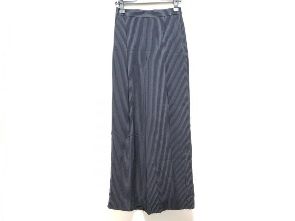ENFOLD(エンフォルド) パンツ サイズ36 S レディース美品  黒×白 ストライプ