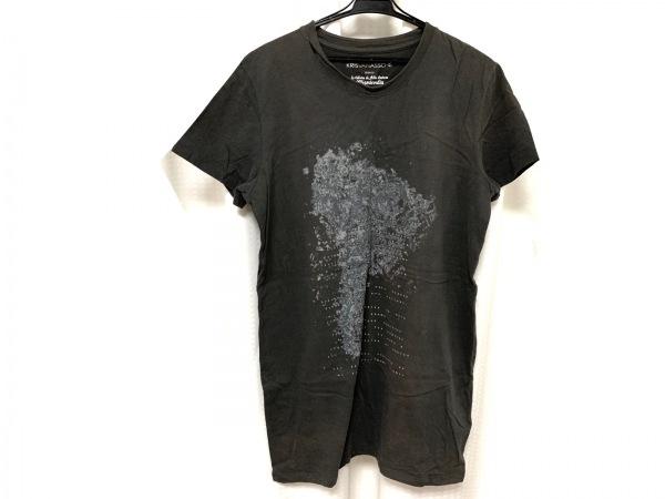 クリスヴァンアッシュ 半袖Tシャツ サイズM メンズ美品  ダークグレー×グレー