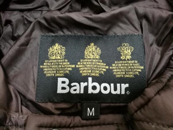 Barbour(バーブァー) ダウンベスト メンズ ダークブラウン キルティング/冬物