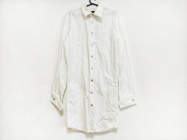 Jean Paul GAULTIER HOMME(ゴルチエオム) 長袖シャツ サイズ48 XL メンズ 白