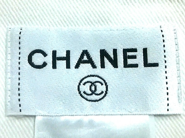 CHANEL(シャネル) ワンピース サイズ42 L レディース美品  アイボリー デニム