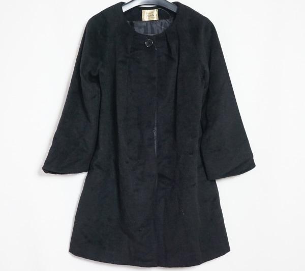 Spick&Span Noble(スピック&スパン ノーブル) コート サイズ9 M レディース 黒 冬物