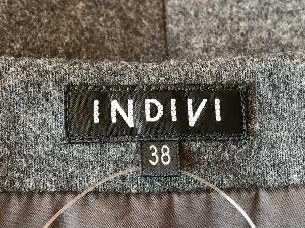INDIVI(インディビ) ワンピース サイズ38 M レディース グレー