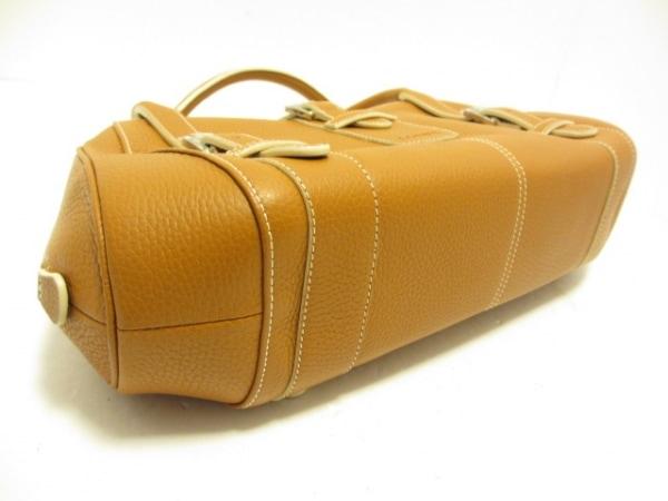LOEWE(ロエベ) ハンドバッグ美品  センダ 310.79.028 ブラウン レザー