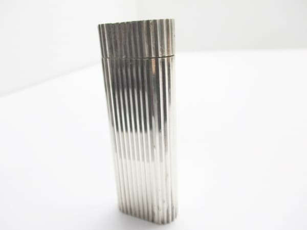 Cartier(カルティエ) ライター シルバー 着火確認できず 金属素材