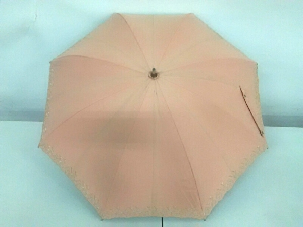 mila schon(ミラショーン) 傘 ベージュ 花柄/刺繍 化学繊維
