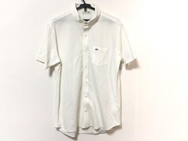 Lacoste(ラコステ) 半袖シャツ サイズ5 XL メンズ美品  アイボリー