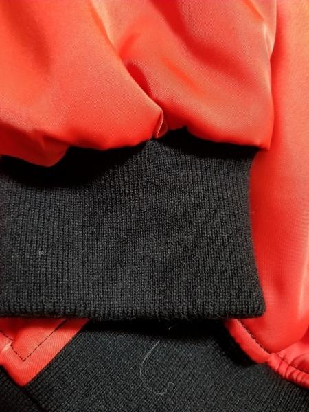 ハーディエイミス ダウンジャケット サイズL メンズ美品  レッド×黒×マルチ