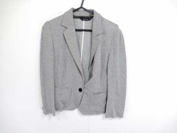 ブラックレーベルポールスミス ジャケット サイズ38 M レディース美品  グレー ニット