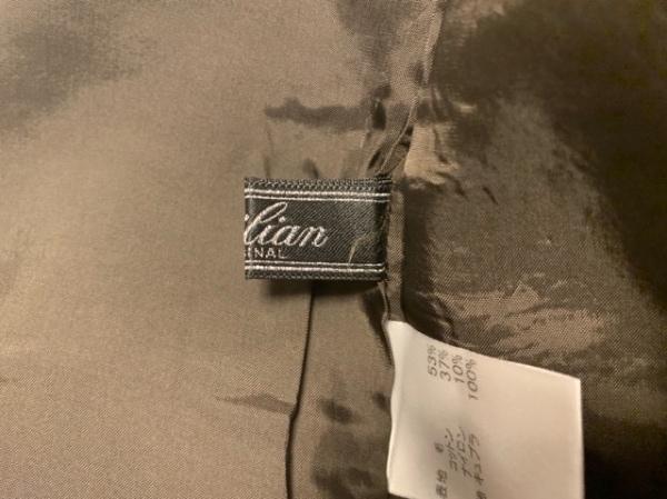 Leilian(レリアン) ワンピース サイズ9 M レディース カーキ×ベージュ
