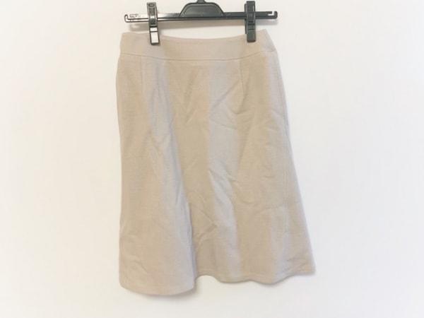 Leilian(レリアン) スカート サイズ9 M レディース ベージュ