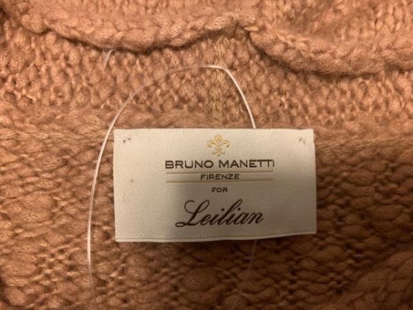 Leilian(レリアン) 長袖セーター サイズ9 M レディース ブラウン