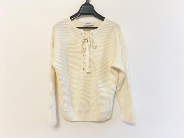 Leilian(レリアン) 長袖セーター サイズ9 M レディース アイボリー