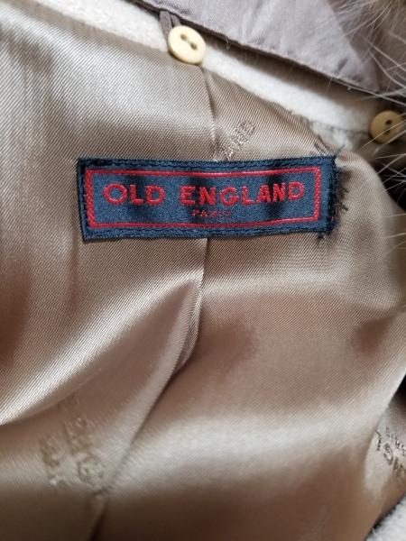 OLD ENGLAND(オールドイングランド) コート サイズ36 S レディース美品  ベージュ