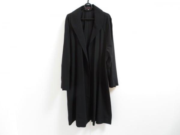 YOSHIE INABA(ヨシエイナバ) コート サイズ9 M レディース美品  黒 春・秋物