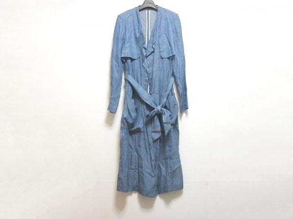 ベーセッツ コート サイズ38 M レディース ブルー 春・秋物/ロング丈