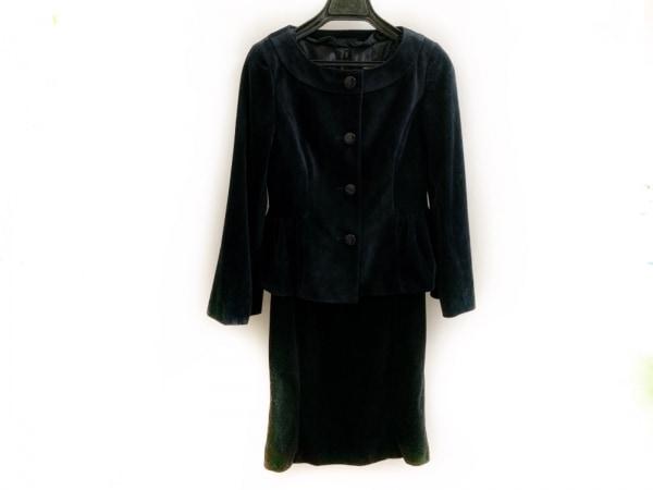 クリアインプレッション ワンピーススーツ サイズ1 S レディース美品  黒