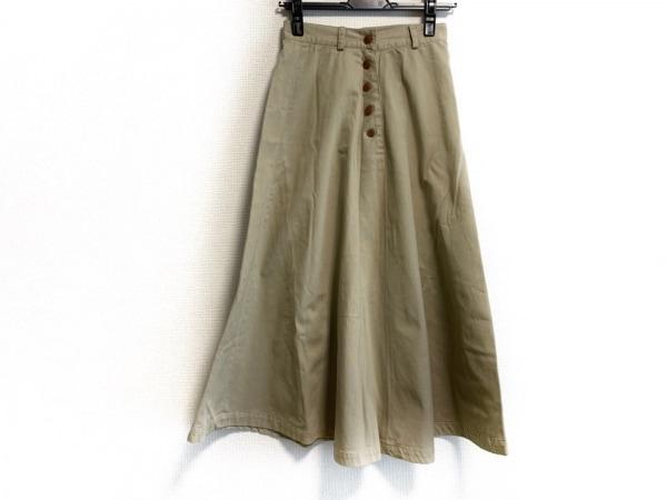 ラルフローレン カントリー ロングスカート サイズ9 M レディース ベージュ