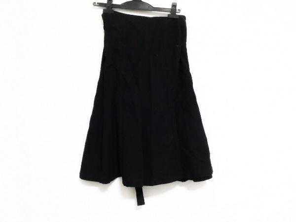 トリココムデギャルソン 巻きスカート サイズM レディース 黒