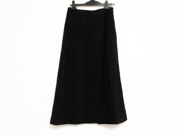 トリココムデギャルソン ロングスカート サイズM レディース美品  黒