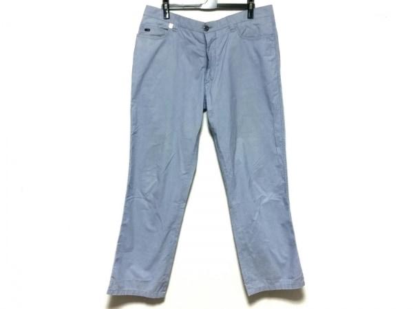 CORNELIANI(コルネリアーニ) パンツ サイズ52 メンズ ライトブルー×白 ストライプ