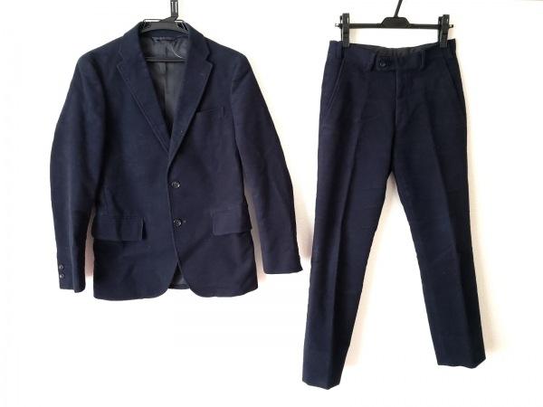 simplicite(シンプリシティエ) シングルスーツ サイズ上36下44 メンズ ダークネイビー