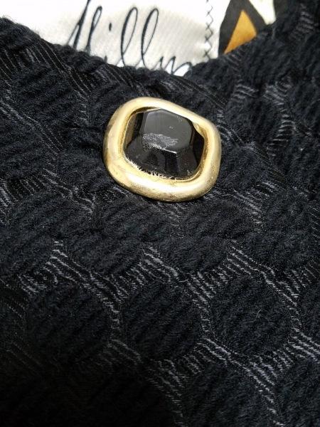 MILLY(ミリー) ジャケット サイズ2 S レディース 黒×ゴールド 春・秋物