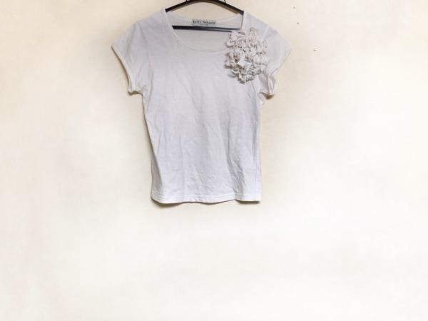 KEITA MARUYAMA(ケイタマルヤマ) Tシャツ サイズM レディース 白