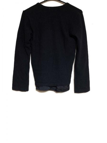 COMMEdesGARCONS(コムデギャルソン) 長袖セーター レディース 黒 ダメージ加工