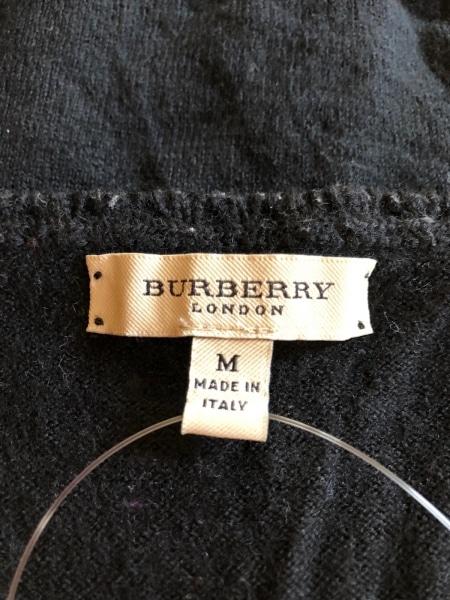 Burberry LONDON(バーバリーロンドン) セーター サイズM レディース 黒